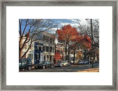 Alexandria Street Framed Print by Larry Darnell
