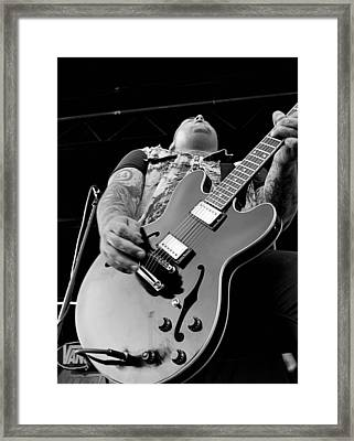 Alexisonfire Framed Print by Ryan Rose