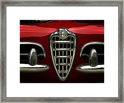 Alfa Red Framed Print by Douglas Pittman