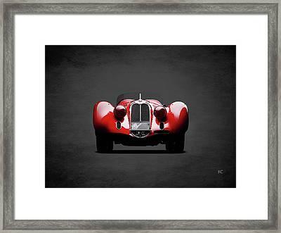 Alfa Romeo 8c Framed Print