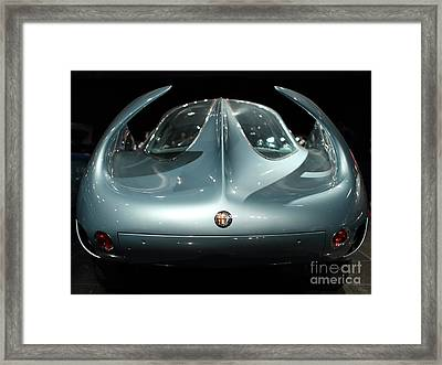 Alfa Romeo Bat 9 Wing View Framed Print by Transportation Photographs