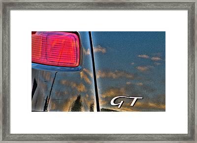 Alfa Romeo Sunset Framed Print