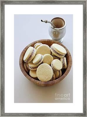 Alfajor Cookies  Framed Print by PhotoStock-Israel
