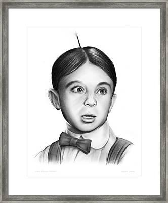 Alfalfa Framed Print by Greg Joens