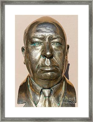 Alfred Hitchcock At Universal Studios Hollywood California Dsc3615 Framed Print
