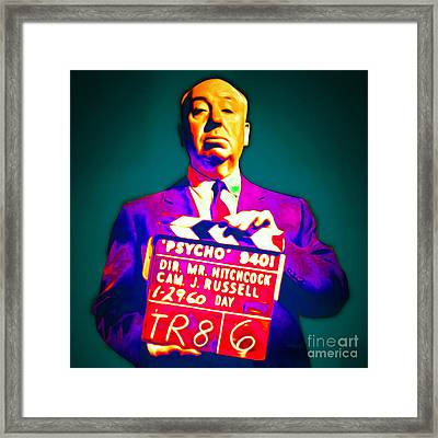 Alfred Hitchcock Psycho 20151218 Square Framed Print