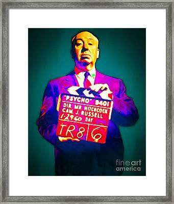 Alfred Hitchcock Psycho 20151218 Framed Print