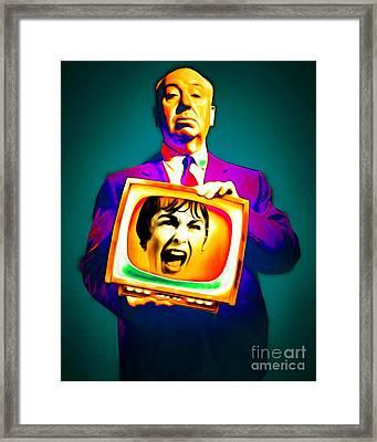 Alfred Hitchcock Psycho 20151218v3 Framed Print