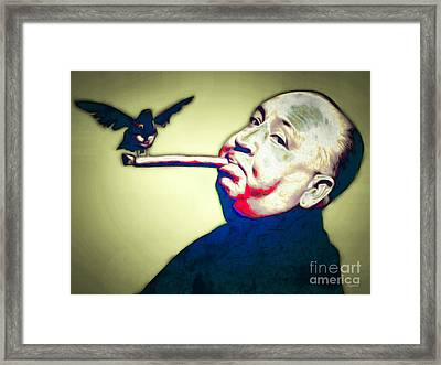 Alfred Hitchcock The Birds 20151218 Framed Print