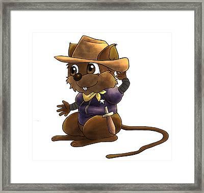 Deputy Alfred Framed Print