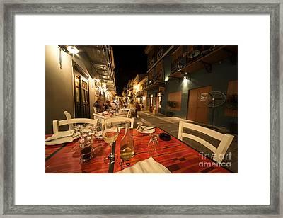 Alfresco  Framed Print