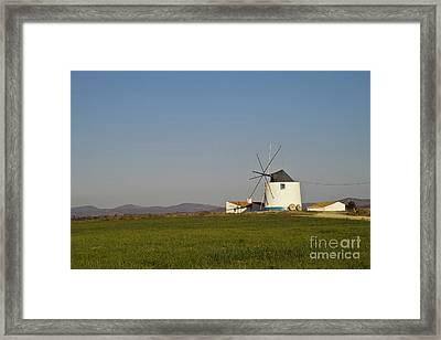 Algarve Windmill Framed Print by Heiko Koehrer-Wagner