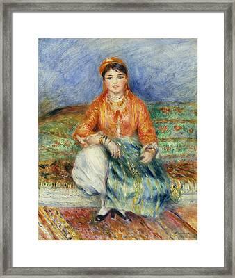 Algerian Girl 1881 Framed Print by Pierre Auguste Renoir