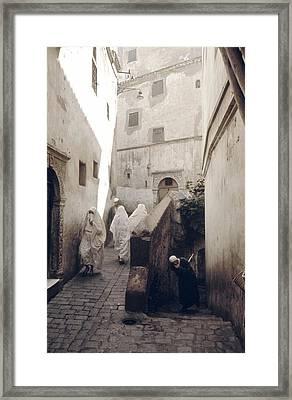 Algiers Casbah Framed Print
