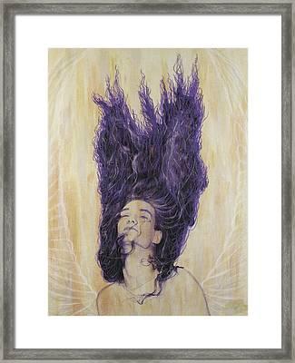 Algiz Framed Print by Arnuda
