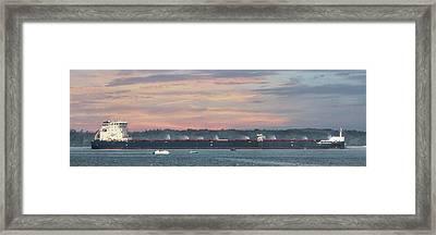 Algoma Strongfield Framed Print