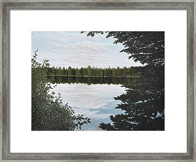 Algonquin Park Framed Print by Kenneth M  Kirsch