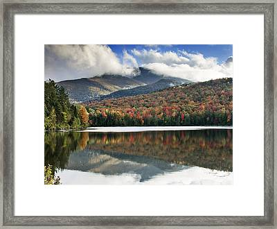 Algonquin Peak From Heart Lake - Adirondack Park - New York Framed Print by Brendan Reals