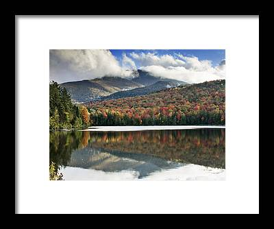 Fall Foliage New York Framed Prints