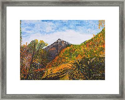 Algund View Framed Print