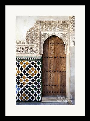 Entrance Door Framed Prints