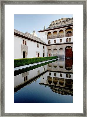 Alhambra Framed Print by Jason Hochman