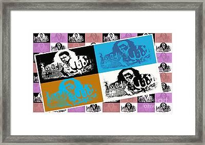 Ali The Greatest - Tribute - Pop Art Framed Print by Ian Gledhill
