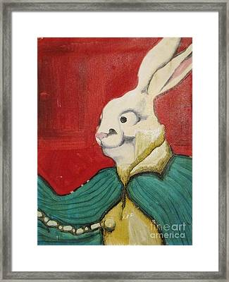 Alice Framed Print by Aaron Wilcox