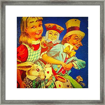 Alice And Co Framed Print