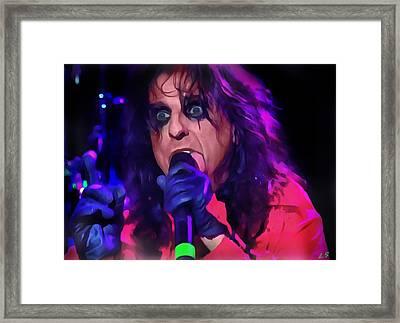 Alice Cooper Framed Print