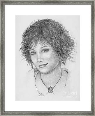 Alice Cullen Framed Print