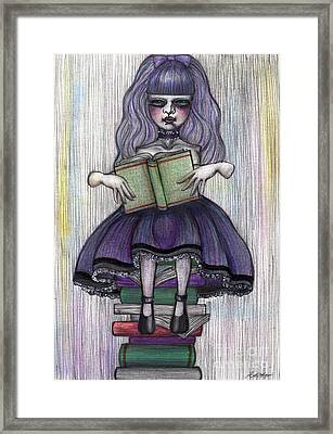 Alice In Another World 2 Framed Print