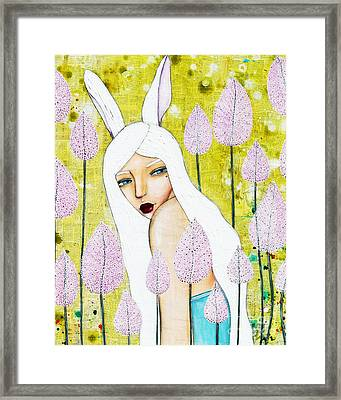 Alice In Oz Framed Print by Natalie Briney