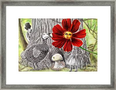 Alice In Wonderland 3 Framed Print by Keiko Olds