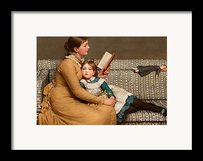 Mothering Sunday Framed Prints