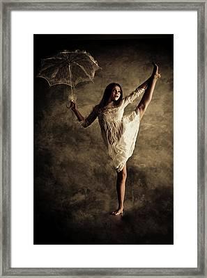 Alice In Wonderland Framed Print by Viacheslav Potemkin