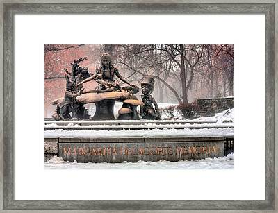 Alice  Framed Print by JC Findley