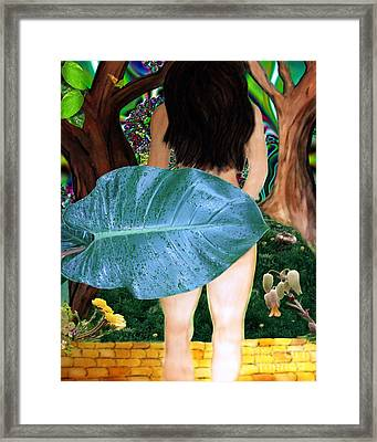 Alice Leaves Oz Framed Print