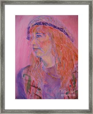 Alice Framed Print by Marlene Robbins