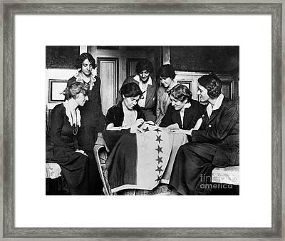 Alice Paul (1885-1977) Framed Print by Granger
