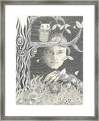 Alice Syndrome Framed Print by Melinda Dare Benfield