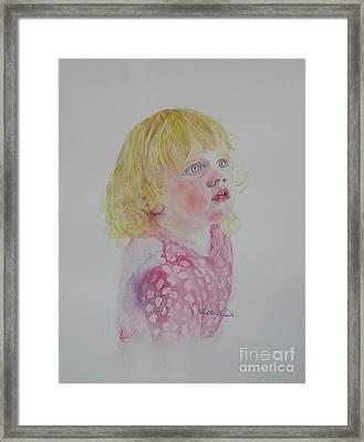Alice Wondering Framed Print