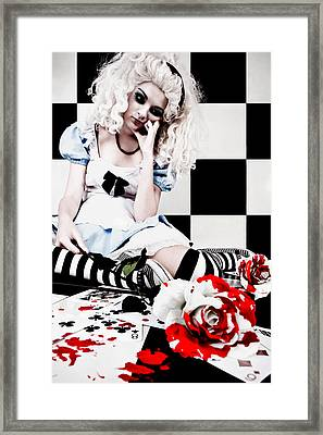 Alice2 Framed Print by Kelly Jade King