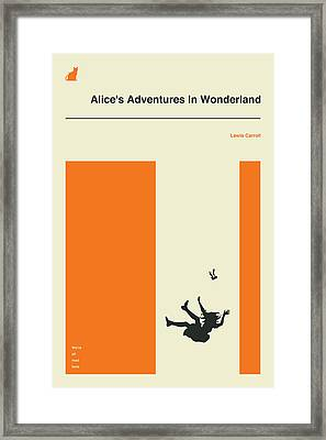 Alice's Adventures In Wonderland Framed Print by Jazzberry Blue