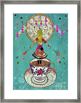 Alice's Dream Framed Print