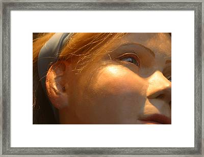 Alices Eye Framed Print by Jez C Self