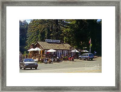Alices Restaurant Framed Print