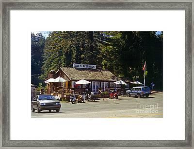 Alices Restaurant Framed Print by Rod Jones