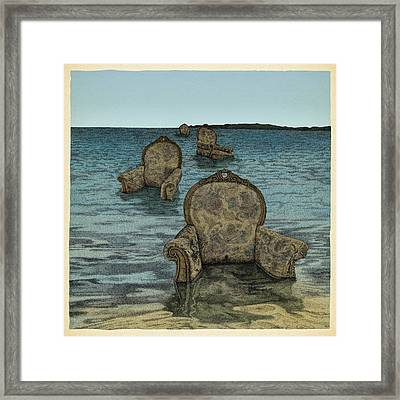 Alices Tears Framed Print