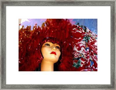 Alichia 1 Framed Print by Jez C Self